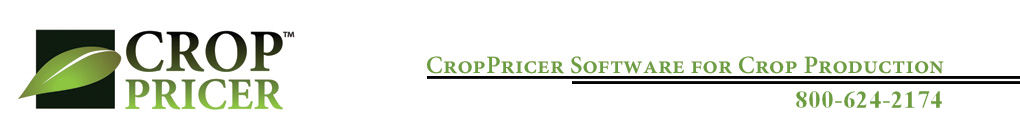 Croppricer, Software for Crop Production